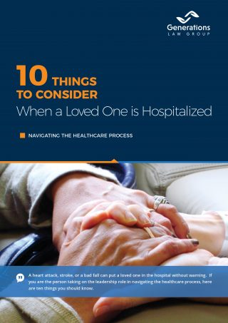 10 Things to consider when a loved one is hospitalized