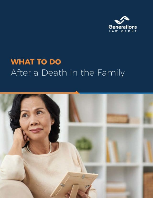 GLG What to Do After A Death in the Family